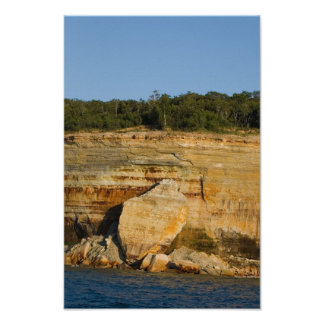 Pictured Rocks National Lakeshore, Michigan Poster