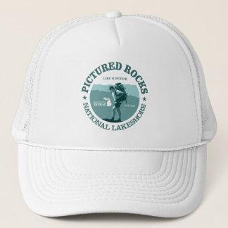 Pictured Rocks NP Trucker Hat