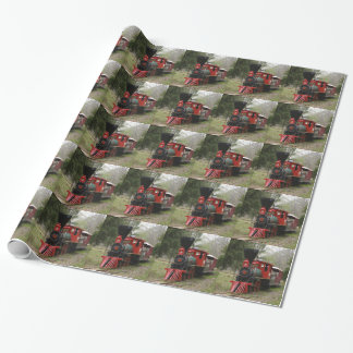 Pictures of locomotive trains wrapping paper