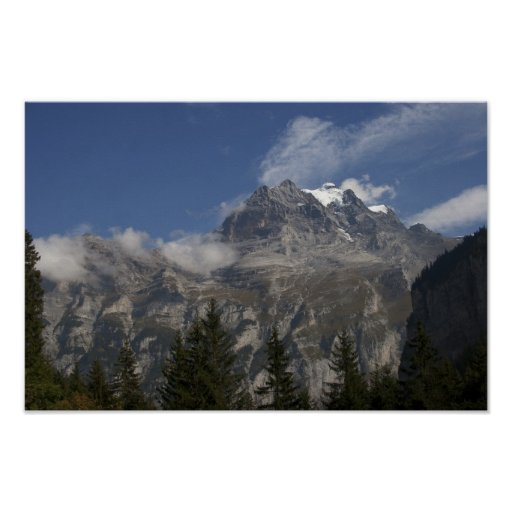 Pictures of Switzerland: Jungfrau Views: Poster