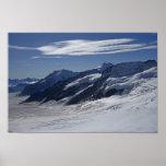 Pictures of Switzerland: Jungfraujoch View: Poster