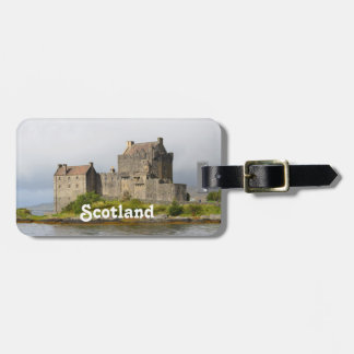 Picturesque Eilean Donan Castle Luggage Tag