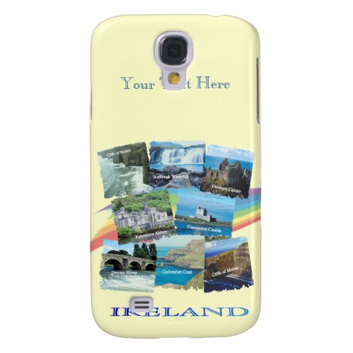 PICTURESQUE IRELAND COLLAGE - Eight Scenic Designs Galaxy S4 Covers