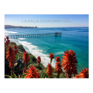 Picturesque La Jolla, California Postcard