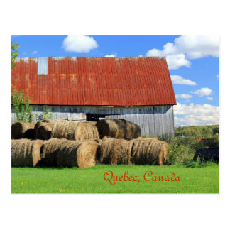 Picturesque Province of Quebec, Canada Postcard