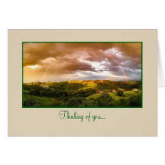 Picturesque Thinking of You Note Card