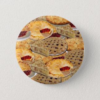 Pie 2 Inch Round Button