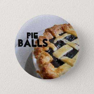 Pie Balls 2 Inch Round Button