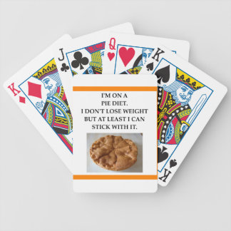 PIE BICYCLE PLAYING CARDS