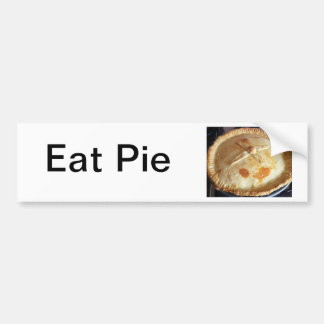 Pie Bumper Sticker