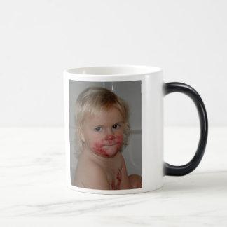 Pie Face, I love the pie Memaw! Magic Mug