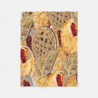 Pie Fleece Blanket