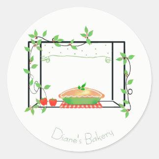 Pie in the Window Bakery Sticker