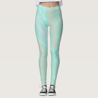 Pie leaves leggins leggings