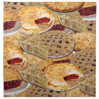Pie Napkin