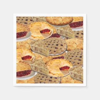 Pie Paper Napkins