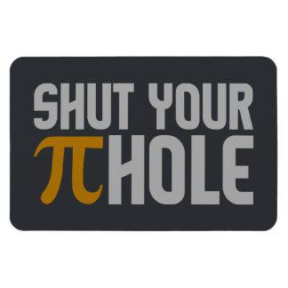 """""""Pie (pi) Hole"""" custom magnet"""