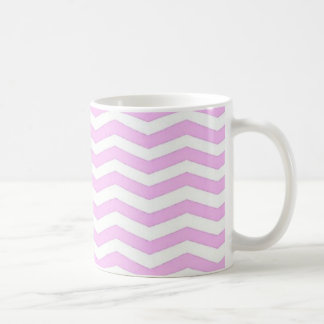 Pie Pink Chevron Stripes Mug