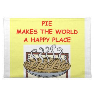 pie placemats