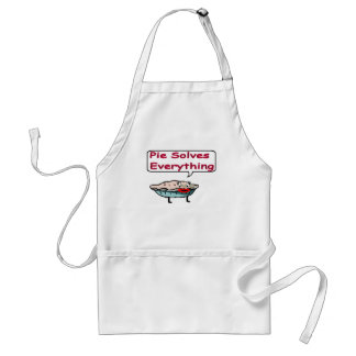 Pie Solves Everything Standard Apron