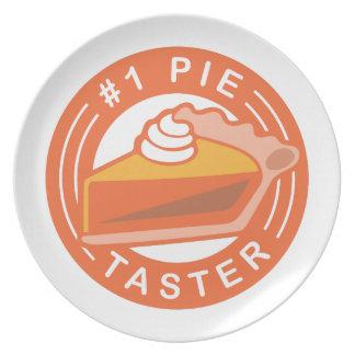 Pie Taster Plate