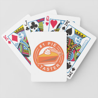 Pie Taster Poker Deck