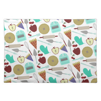Pie Themed Pattern Placemat