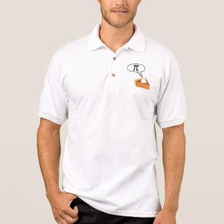 Pie Thinking of Pi Polo Shirt