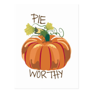 Pie Worthy Postcard