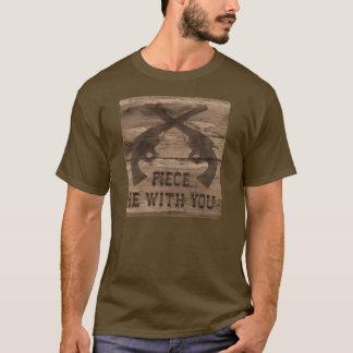 Piece Be With You Gun Shirt # 2