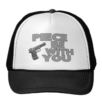 Piece Be With You Trucker Hats