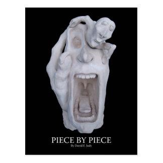 PIECE BY PIECE postcard