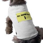 Pièce en t d'animal familier de bavoir de coureurs manteaux pour chien