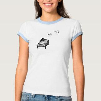 Pièce en t d'anneau du logo des femmes tshirts