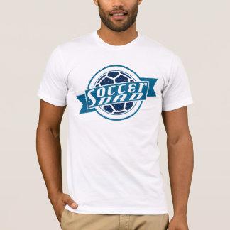 Pièce en t de conception de ballon de football de t-shirt