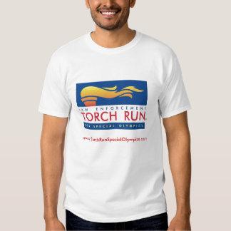 Pièce en t de course de torche tshirt