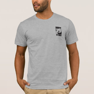 Pièce en t de logo de la poche des hommes d'équipe t-shirt