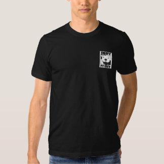 Pièce en t de logo de la poche des hommes d'équipe tee shirt
