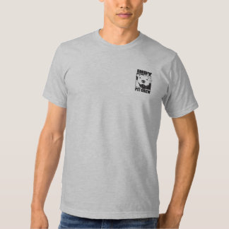Pièce en t de logo de la poche des hommes d'équipe tshirts