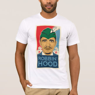Pièce en t de Robin Hood de capot de Barack Obama T-shirt