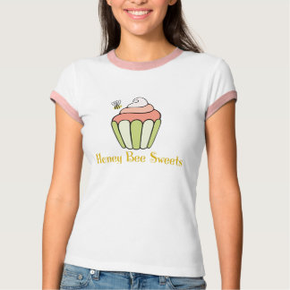 Pièce en t de sonnerie de bonbons à abeille de t-shirts