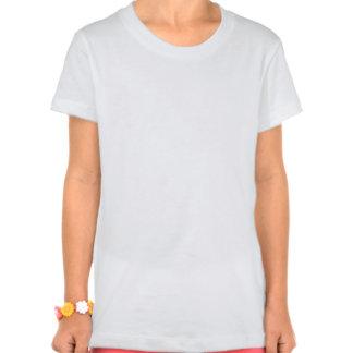 Pièce en t d'éclat/dauphin d'enfants tee-shirts