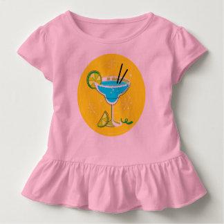 Pièce en t d'enfant en bas âge avec la margarita : t-shirt pour les tous petits