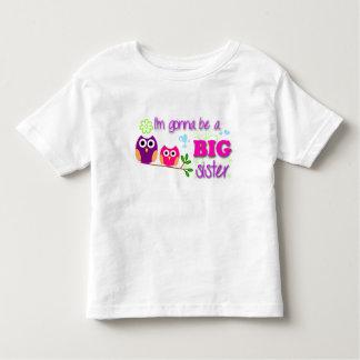 Pièce en t d'enfant en bas âge de grande soeur t shirt