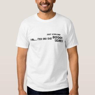 Pièce en t d'équipe de rue de Jake Weezner T Shirt