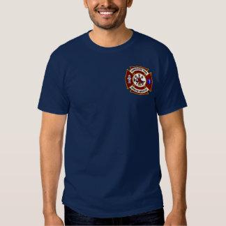 Pièce en t du feu Engine-2 de Vancouver Tee-shirt