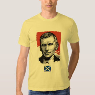 Pièce en t écossaise de drapeau de l'indépendance tshirts