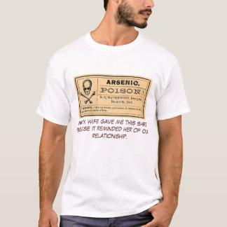 Pièce en t ex d'épouse de label arsenical vintage t-shirt