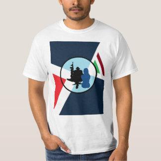 Pièce en t italienne du travail t-shirt