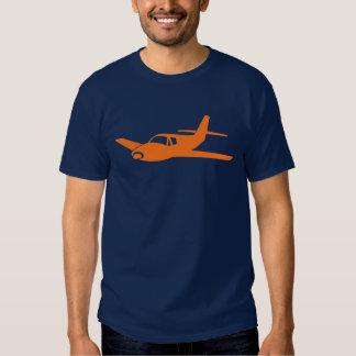 Pièce en t orange simple de types d'avion de tee shirts